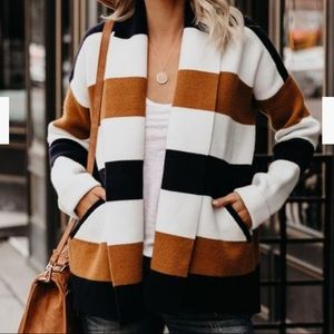 Striped cardigan from Vici